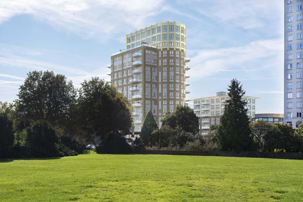 Voorburgse kantoortorens Feithplein worden omgebouwd tot appartementen